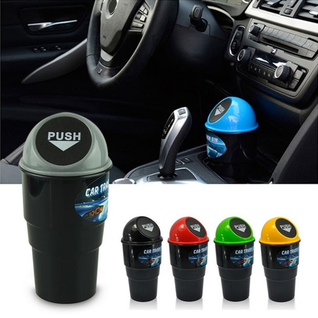 Mini Car Trash Can