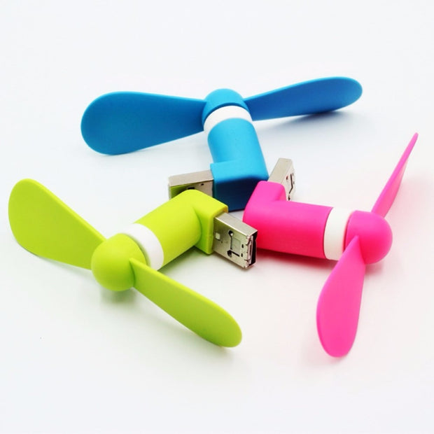 Mini Portable USB Mobile Fan