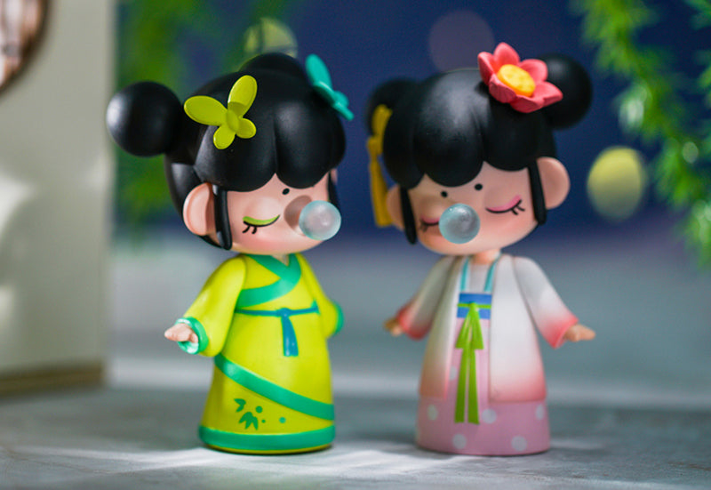 Nanci 3D Figure Toys - Give You a First Look of Mulan