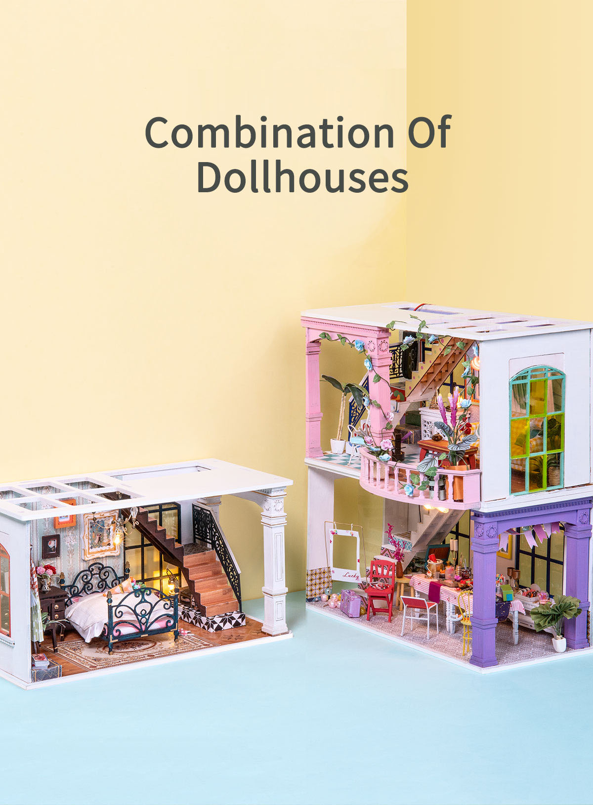 Rolife New Arrival DIY miniature dollhouse | iFree Series