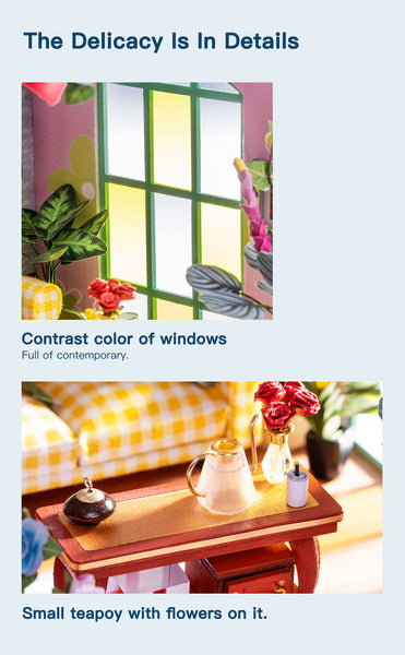Rolife New Arrival DIY miniature dollhouse   iFree Series