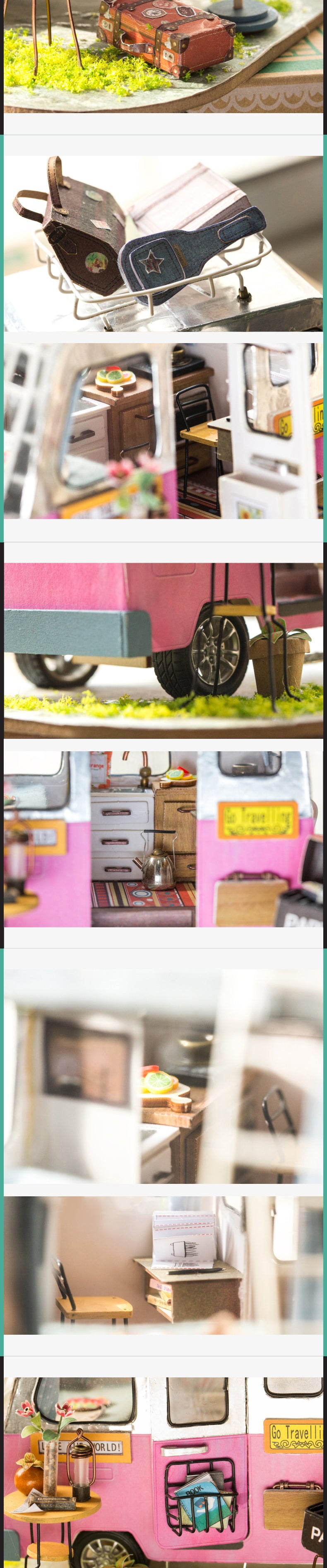 Rolife DIY Miniature Dollhouse - Happy Camper DGM04