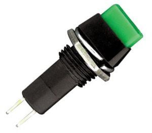 Switch Push 5A 125V 1 Polo, 1 Tiro Enclave (ON-OFF) Cuadrado Varios Colores