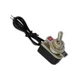 Switch Palanca 6A/125V 3A/250V 1 Polo, 1 Tiro, 2 Posiciones Enclave (ON-OFF) con Cable