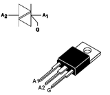 Triac 16 A 800 V TO220 BTB16-800BRG
