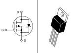 Transistor MTP23P06V Mosfet TO220 CH-P 60 V 23 A