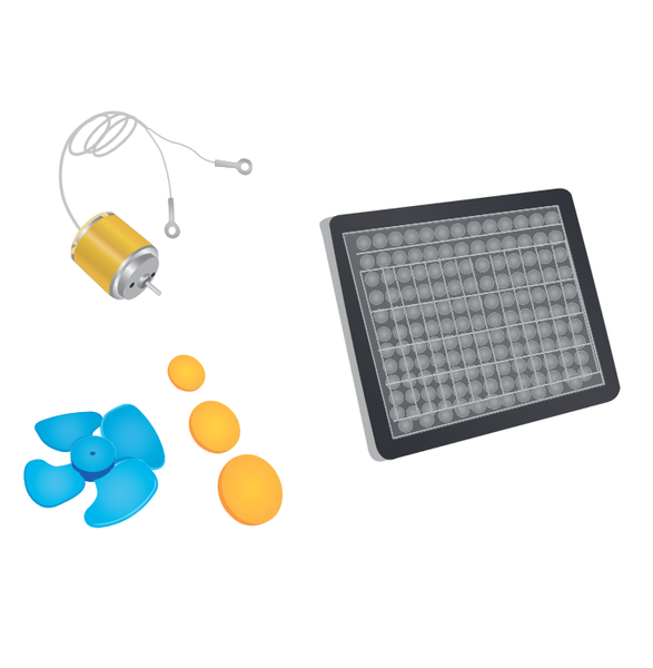 Kit Solar Educativo Steren PS-828