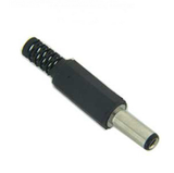 Plug Invertido 2.1 x 5.5 x 14 mm con Sujeta Cable