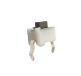 Switch Push Mini sin Base 2 Pines 1.5 mm Rectangular Blanco