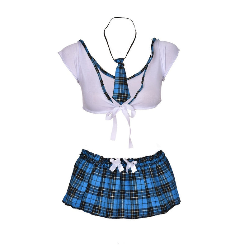 School Girl Sexy Costumes Student Uniform