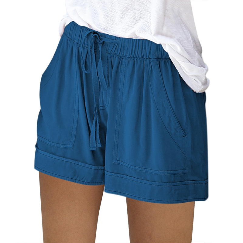 Loose Rope Tie Shorts