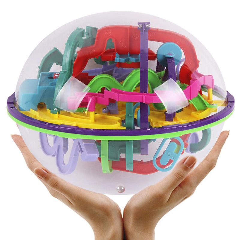 3D Maze Ball Interesting Labyrinth Puzzle Game Globe