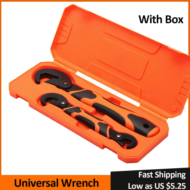 2pcs Universal Wrench Set 9 32mm keys