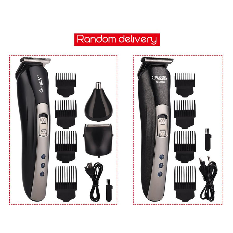 3 in 1 Rechargeable Shaver Hair Trimmer Rechargeable Electric Nose Hair Clipper Professional Beard Razor Haircut Cutting Machine|Hair Trimmers
