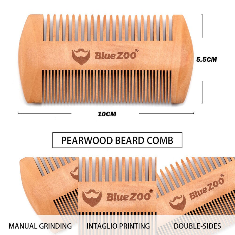 3 in 1 Shaving Beard Brush Kit Set