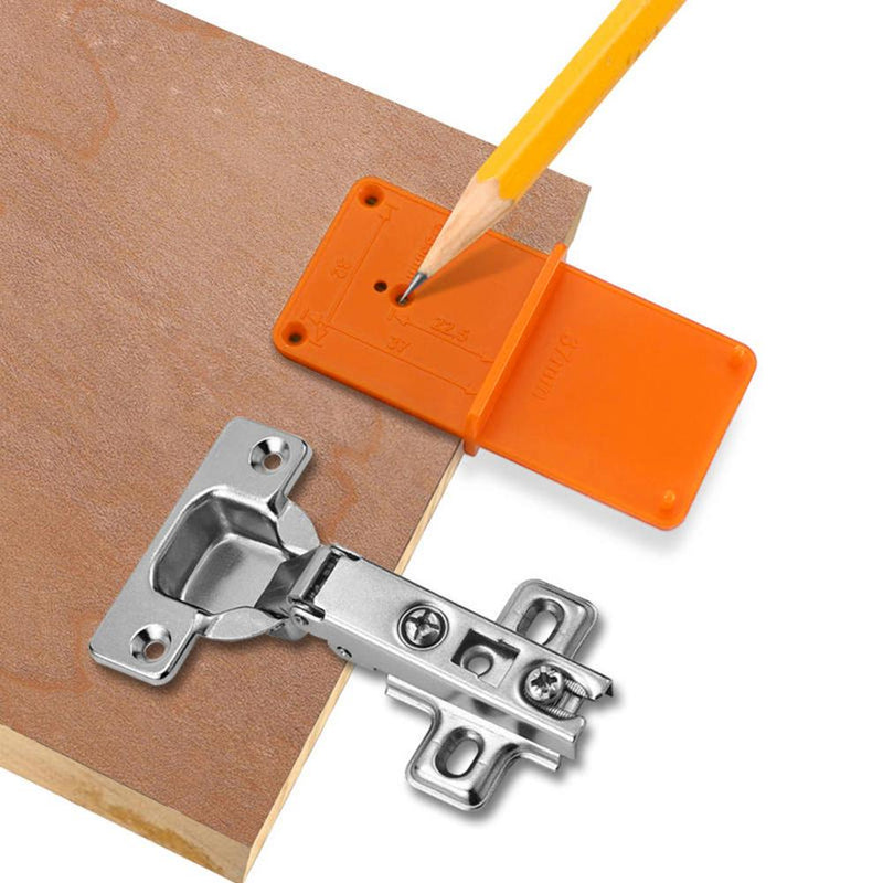 Woodworking Punch Hinge Drill Hole Opener Locator Guide