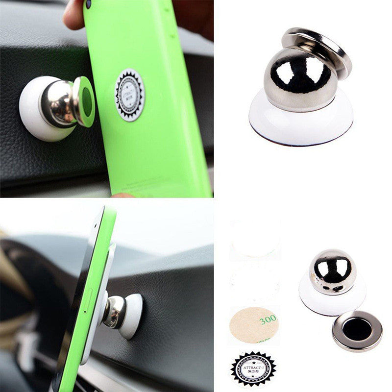 360 Degree Universal Car Phone Holder Magnetic Mount Cell Phone Car Mobile Phone Holder