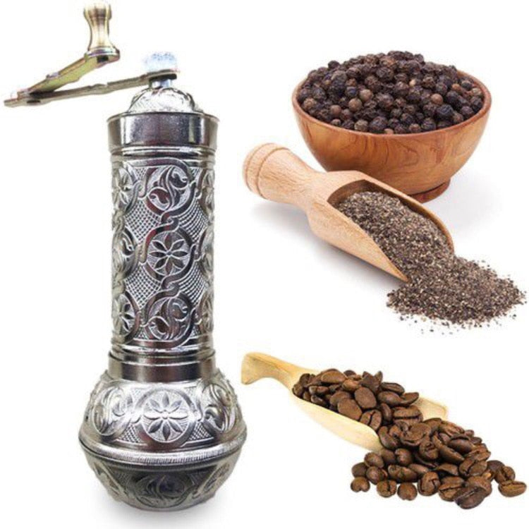 1 PCS Turkish Coffee Mill Salt Pepper Mill Spice Grinder