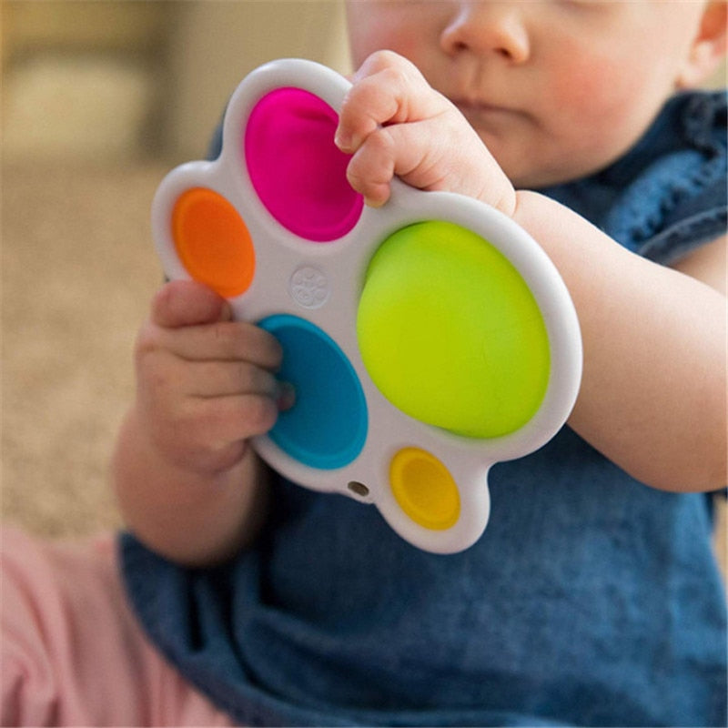Exercise Board Rattle Puzzle Toys