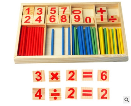 Wooden Stick Education Toys