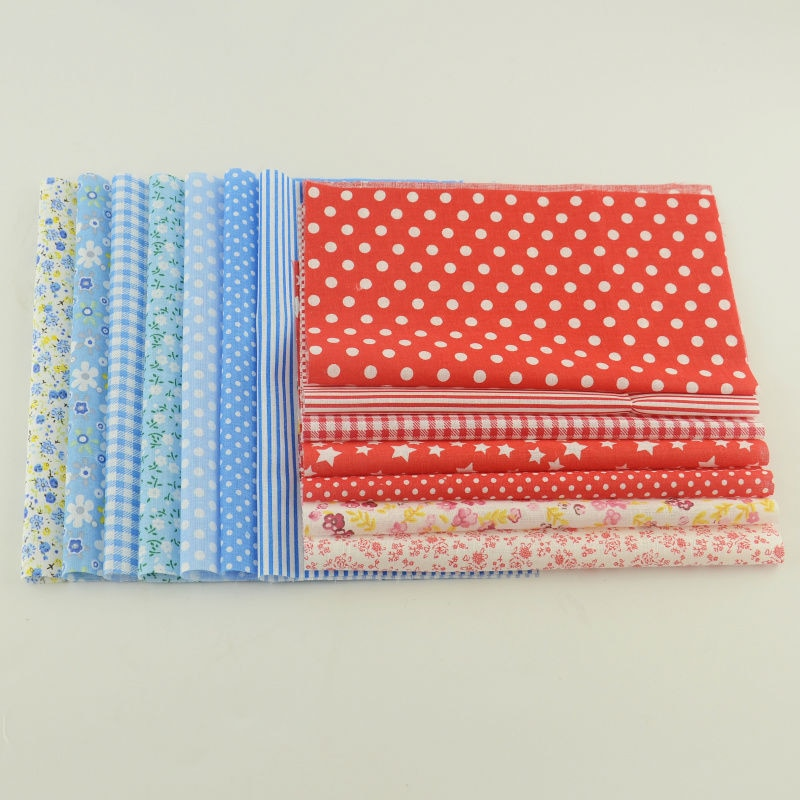 Cotton Fabric 50 pieces Sewing