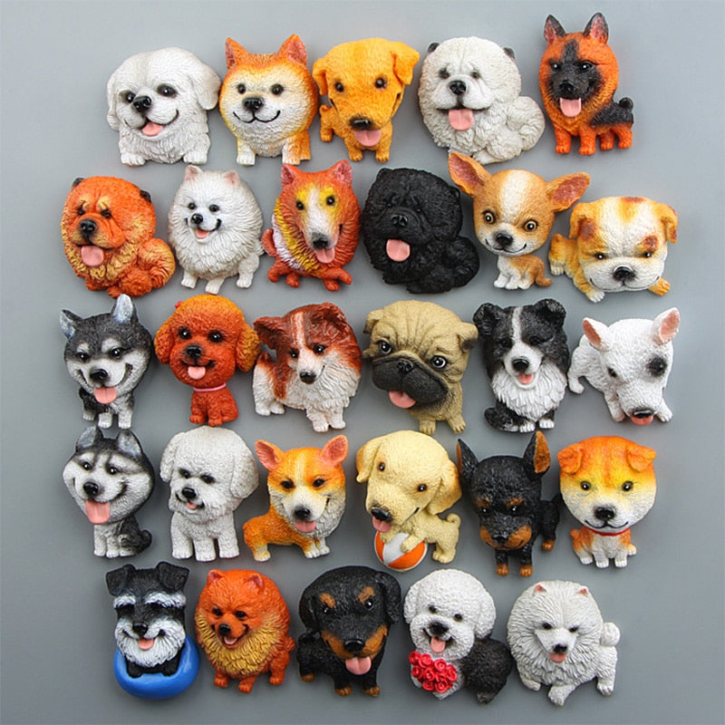 Dog fridge magnets