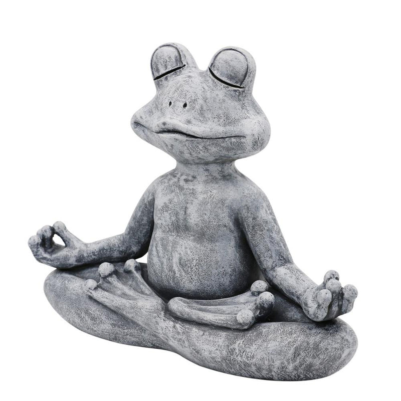 Frog Garden Statue Garden Decoration Outdoor Sculpture Home Decor Indoor Ornaments