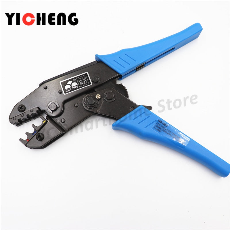 "HS 30J 9"" European Ratchet Crimper Terminal Crimp Pliers"