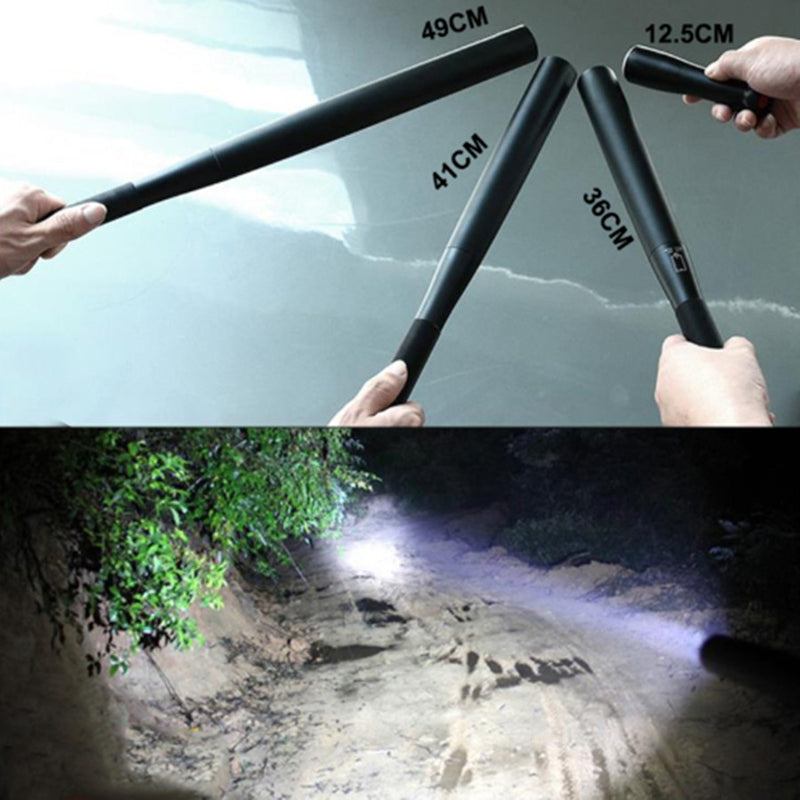 Defense Baseball Flashlight Stick Personal Defense Supplies