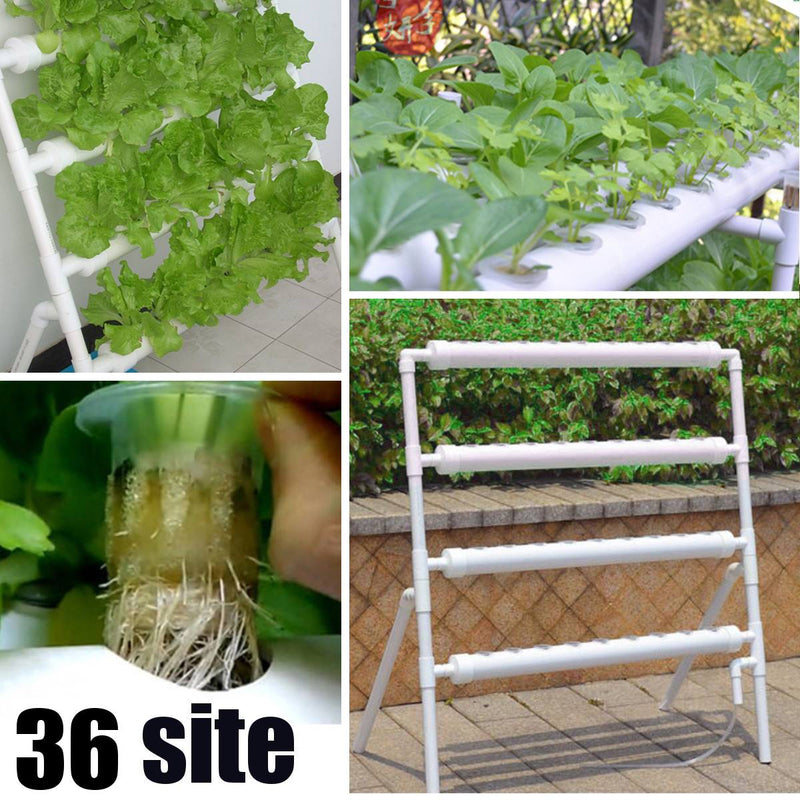Site Grow Kit Hydroponic 36 Planting Sites Garden Plant System Vegetables Grow Kits