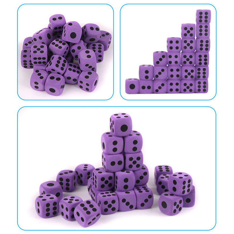 Large Foam Dice Entertainment Educational Toys
