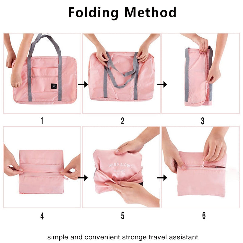 MARKROYAL 2020 New Folding Travel Bag Large Capacity Waterproof Bags Tote Large Handbags Travel Bag Drop shipping|Travel Bags