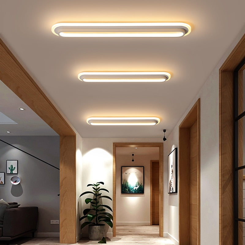 White black color surface mounted Ceiling Light