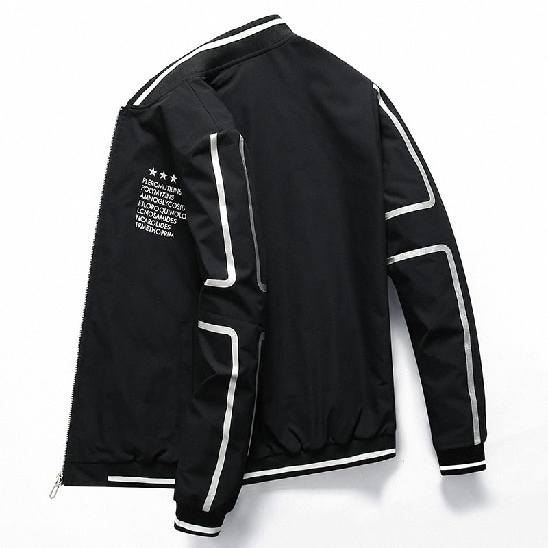 Bomber Zipper Jacket for men casual