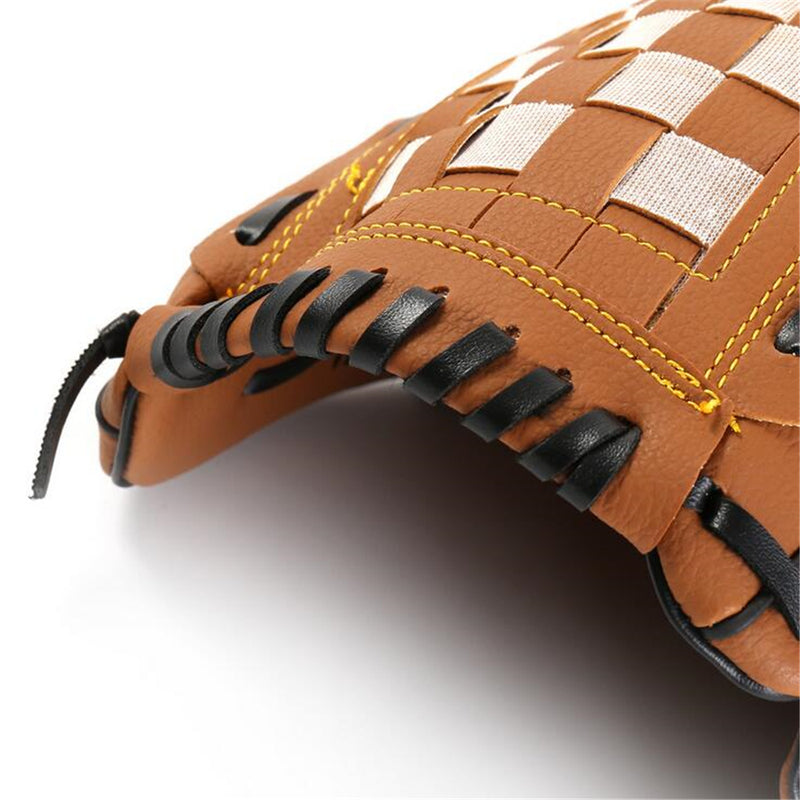 Outdoor Sports Baseball Glove Softball Practice Equipment Size 9.5/10.5/11.5/12.5 Left Hand for Adult Man Woman Training|Baseball & Softball Gloves