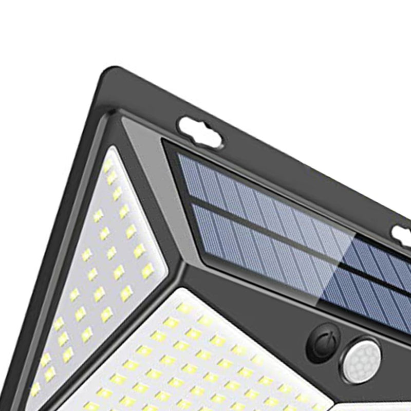 Outdoor garage solar induction wall light