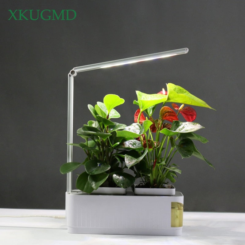 Smart Herb Garden Kit LED Grow Light Hydroponic Growing Plants Flower Hydroponics Grow Tent Box