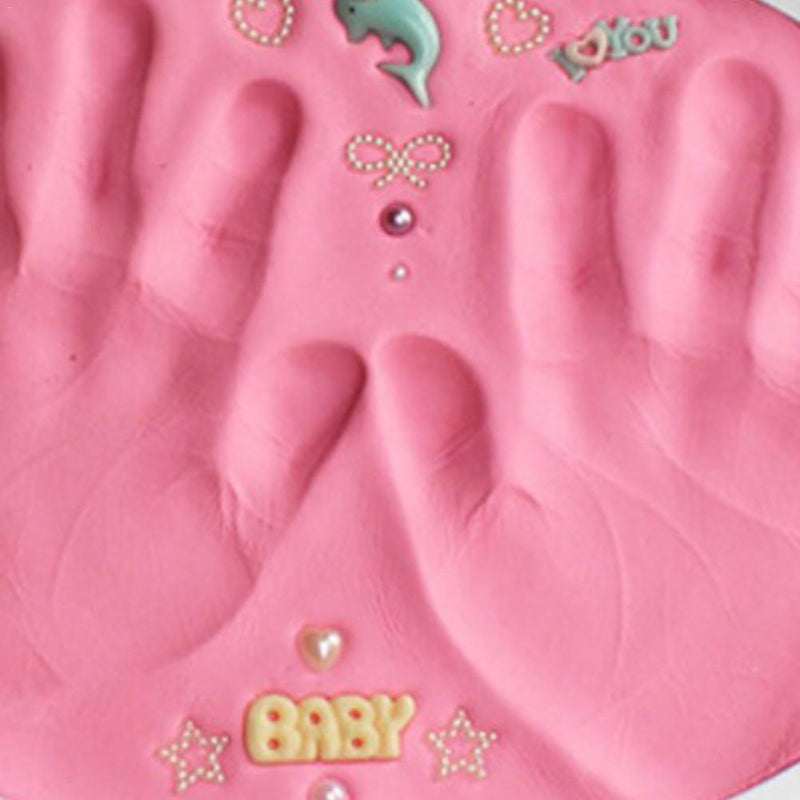 Baby Footprint Slime Soft Modeling Clay