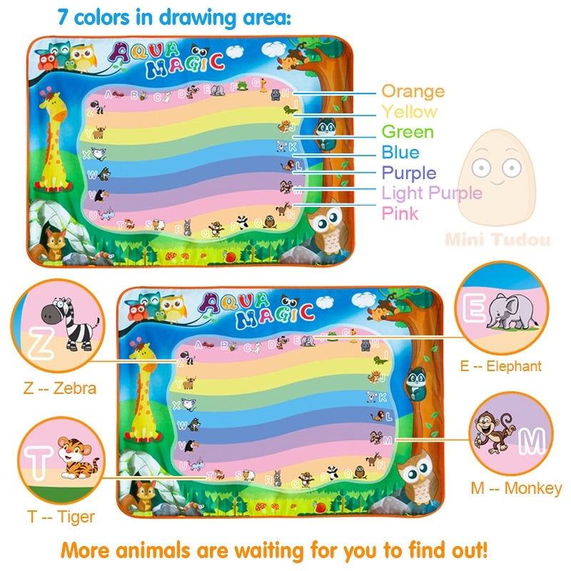 Drawing Mat With Play Pen