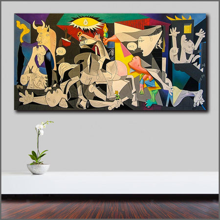 Pop Art Canvas Painting Print Wall Art Oil Painting Poster Pablo Picasso