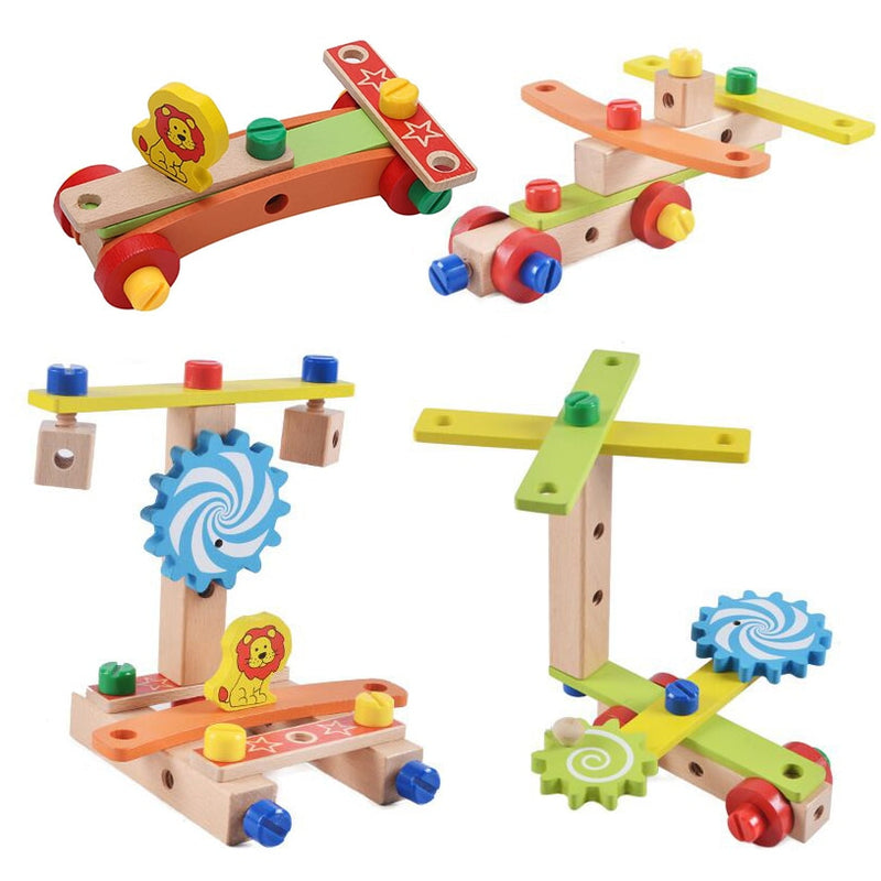 Wooden Assembling Chair Toys