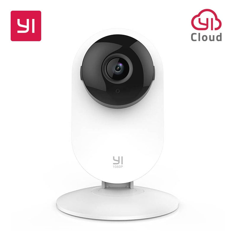 YI Home Camera 1080P IP Smart Indoor IP Camera HD Night Vision AI Human Detection /Motion Detection for Home /Office Security|Surveillance Cameras