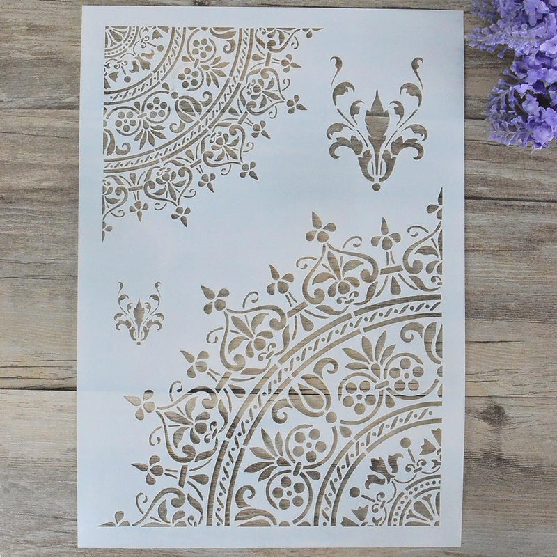 Diy Craft Mandala Stencils For Walls Painting Scrapbooking Stamping Stamp Album Decorative Embossing