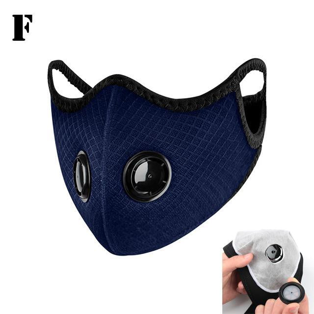 Filters For Dust Cycling Face Masks Cover Filter Face Carbon