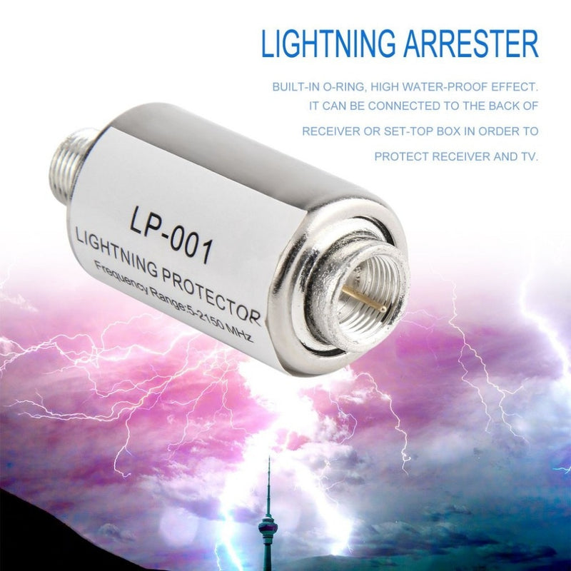 lighting protector coaxial satellite TV lightning protection device
