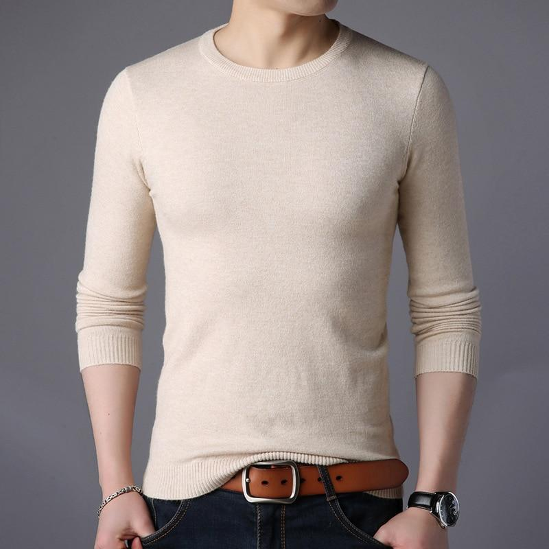 Men Wool Pullovers Man Sweaters Pullover