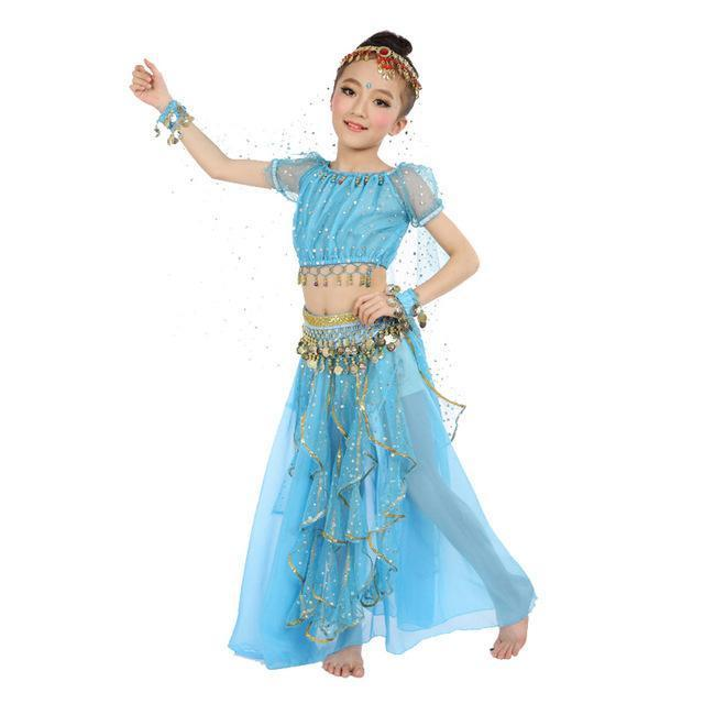 New Style Kids Belly Dance Costume Oriental Dance Costumes Belly Dance Dancer Clothes Indian Dance