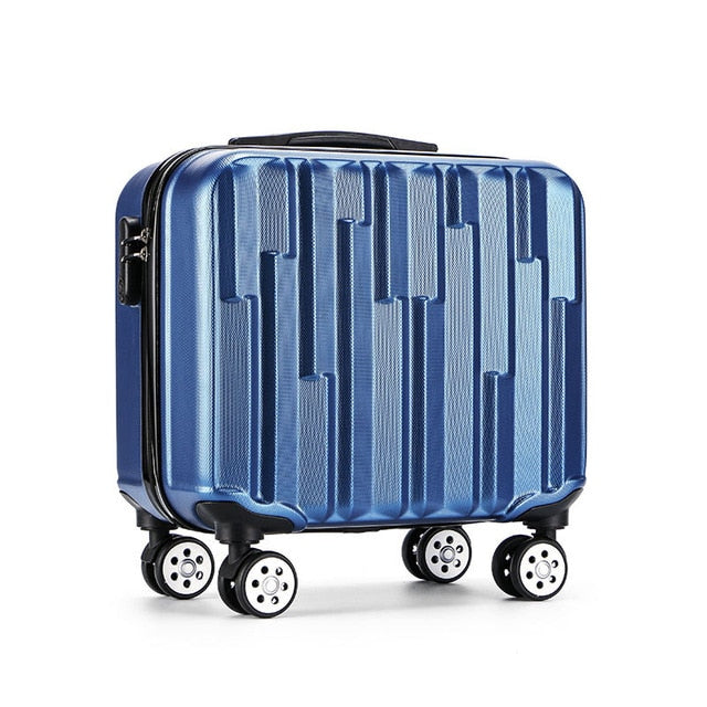 Trolley Luggage Box Business suitcase travel 18 inch abs board