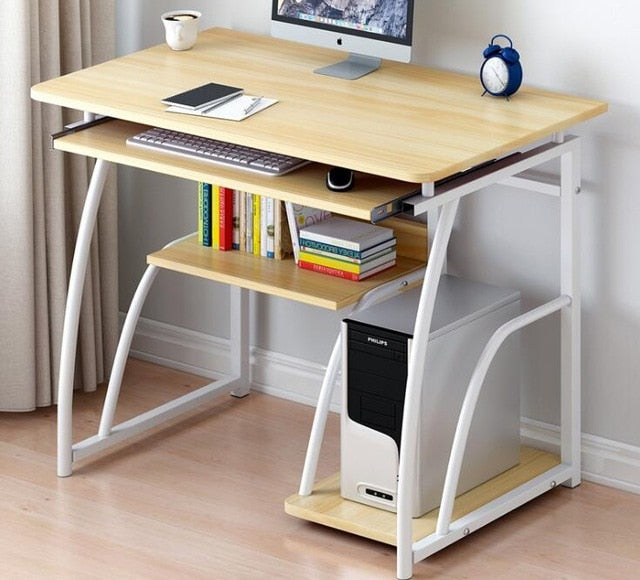 Desk home office study desk easy assembly table