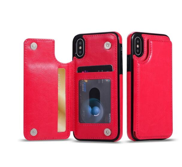 Leather Wallet Case For iPhone 5S SE 5 Funda Card Slots Phone Bag Cover For iPhone 7 6S 8 X Xr XS